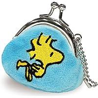 スヌーピー 財布 がま口 プチコロ ブルー RM-4842