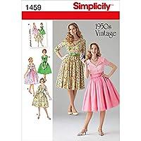 SIMPLICITY MISSES DRESSES-16-18-20-22-24 (並行輸入品)