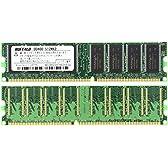 BUFFALO DD400-512Mx2 PC3200(DDR400) DDR SDRAM