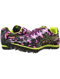 [asics(アシックス)] レディースランニングシューズ?スニーカー?靴 Cross Freak 2 Hot Pink/Black/Neon Lime 5.5 (22.5cm) B - Medium