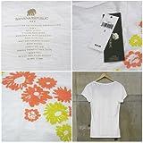 Tシャツ 半袖 レディース ホワイト 620012 バナナ・リパブリック画像②