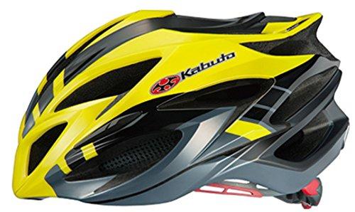OGK(オージーケー) STEAIR(ステアー) ヘルメット インパクトイエロー S/M