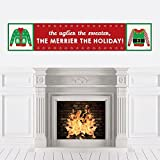 Ugly Sweater - Holiday & Christmas Party Decorations Party Banner [並行輸入品]