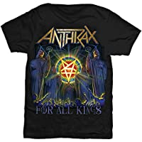 ANTHRAX アンスラックス - FOR ALL KINGS COVER/Tシャツ/メンズ 【公式/オフィシャル】