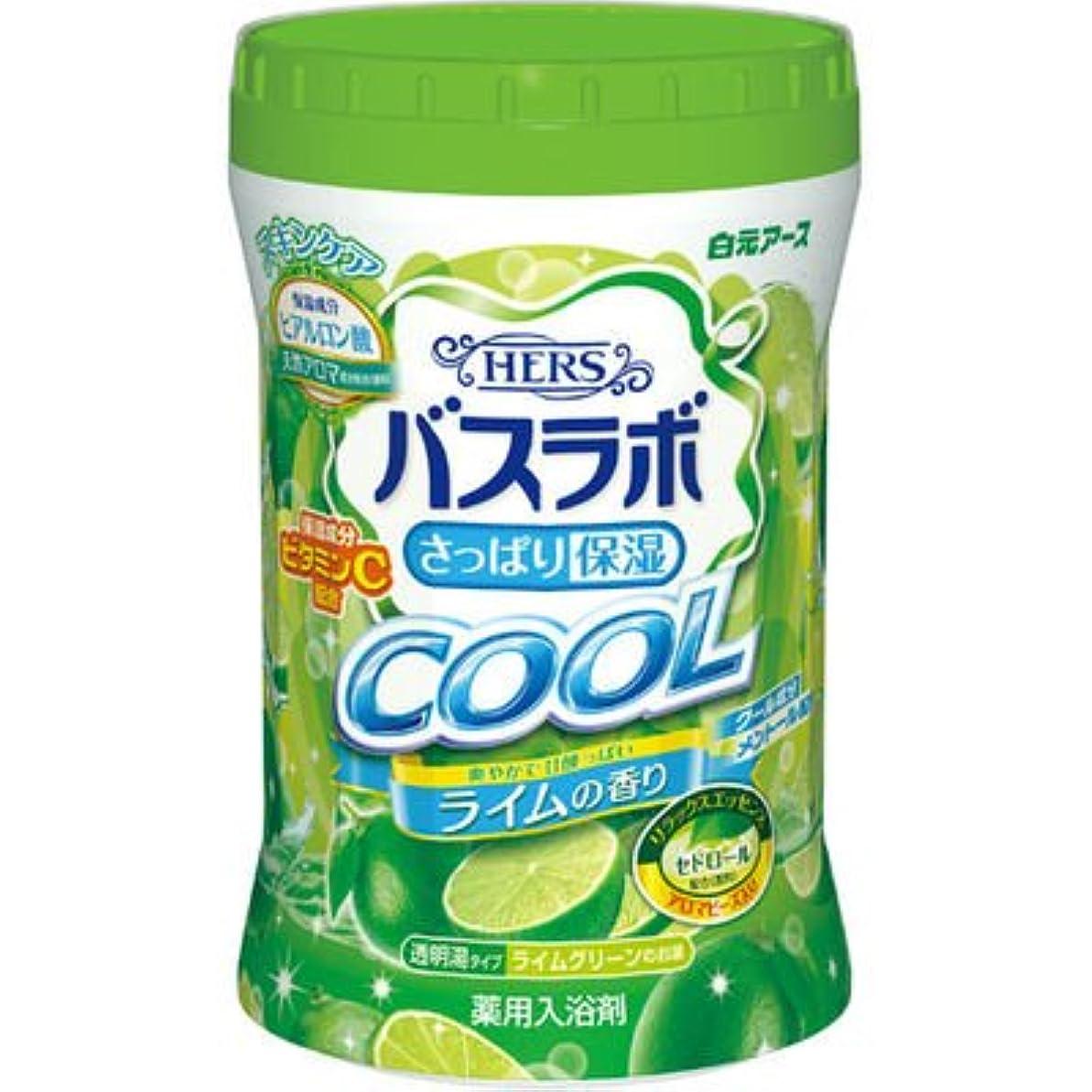 関与する母レギュラー白元アース HERSバスラボ さっぱり保湿 COOL ライムの香り 640g E537344H