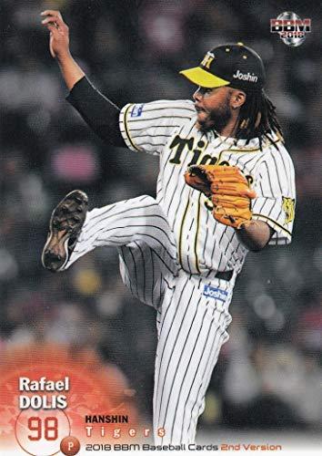 2018 BBM ベースボールカード 2ndバージョン 507 ドリス 阪神タイガース (レギュラーカード)
