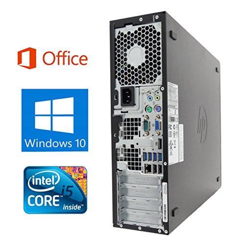 【Microsoft Office 2016搭載】【Win 10搭載】HP 8100/Core i5 3.2GHz/超大容量メモリ8GB/新品2TB/DVDドライブ/中古デスクトップパソコン (ハードディスク:2TB)