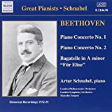 Beethoven: Piano Concerto Nos. 1 & 2; Bagatelle in A minor F??r Elise by London Symphony Orchestra (2001-04-07)