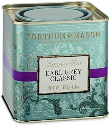 FORTNUM & MASON(フォートナム&メイソン) アールグレイ クラシック リーフ 缶入り(250g) [並行輸入品]