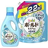 【まとめ買い】 ボールド 洗濯洗剤 液体 フレッシュピュアクリーンの香り 本体 850g + 詰め替え 超ジャンボ1.58kg