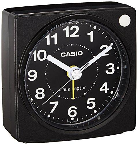 カシオ コンパクトサイズ電波時計 TQ-750J-1JF...