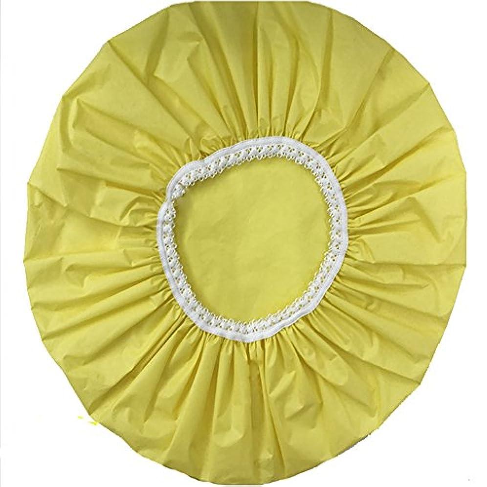 はげオール不規則性Maltose 防水シャワーキャップ 化粧帽 シャワー帽子 防水ハット 防水キャップ 油煙を防ぐ レディ 2枚セット