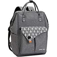 Lekesky Laptop Backpack 15.6 Inch Women Computer Backpack Travel Back Pack for Business/School/College, Casual Daypack Water Repellent, Grey