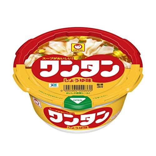 マルちゃん ワンタン しょうゆ味 カップ 32g×12
