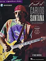 Best of Carlos Santana: A Step-by-Step Breakdown of His Playing Techniques - With Downloadable Audio (Guitar Signature Licks)