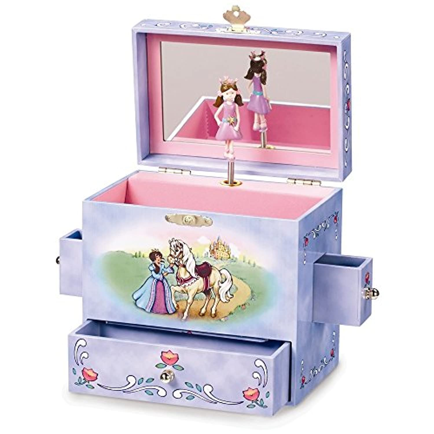 Child 's Fairy Tale Princess Musical Jewelryボックス