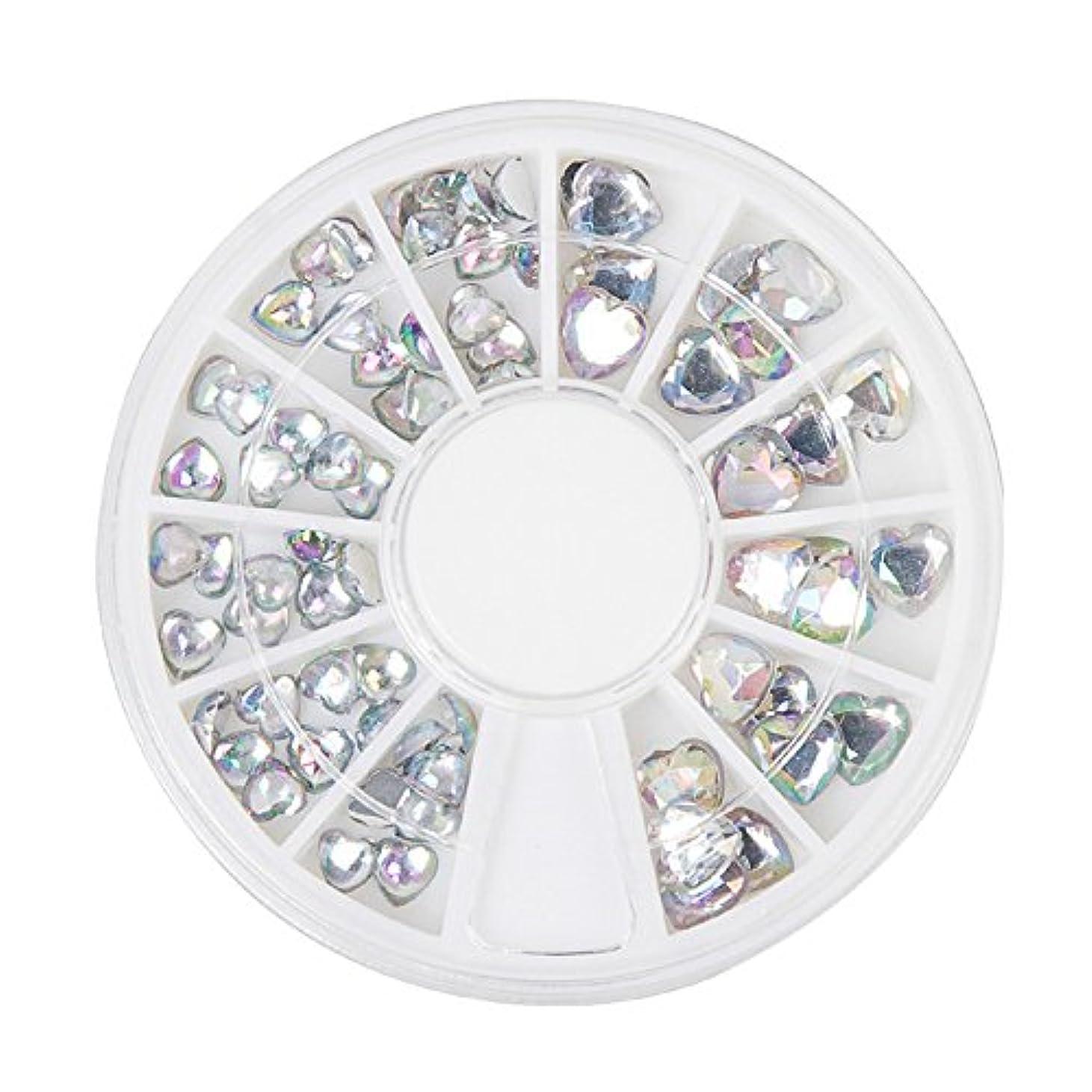 支店サバントセッティングジェルネイル ラインストーン アートパーツ パール ハート ダイヤモンド 22種類選択可
