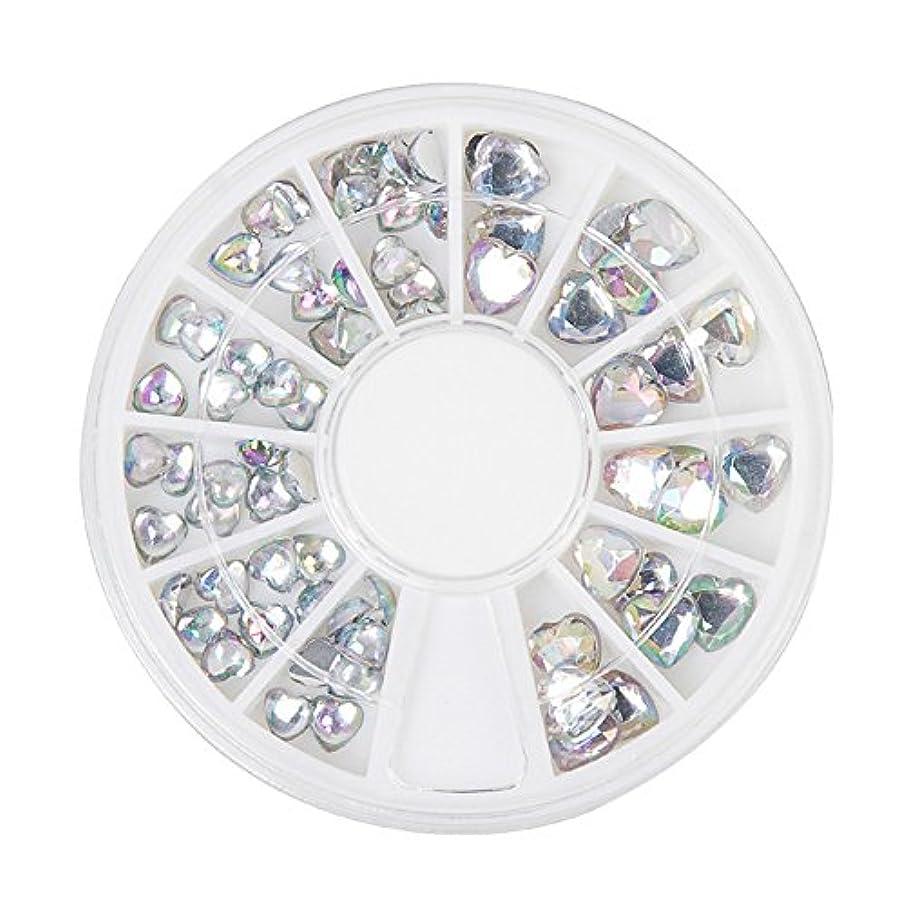 左暴力対角線ジェルネイル ラインストーン アートパーツ パール ハート ダイヤモンド 22種類選択可