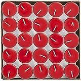 ティーライトキャンドル 50個セット アルミカップ ティーキャンドル ろうそく 赤 白 ロウソク 燃え尽き 防災 パーティー 告白用 結婚式 誕生日会 ロマンチック クリスマス 新年