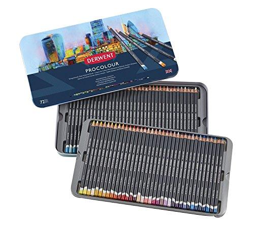 ダーウェント プロカラー色鉛筆 72色セット