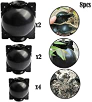jwkklz 8 PCS Plant Root Box Device Ball High-Pressure Propagation Pressure Box Growing Breeding Case