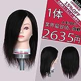 カットウィッグP282【基礎トレーニング用・高級人毛100%】12インチ(30cm)
