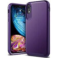 Caseology iPhone XR用ケース Wavelength Series TPU/PC ミリタリーグレード通過(米国防総省ドロップテスト) CO-A18M-GRL (パープル)