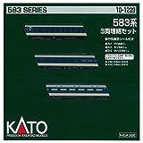KATO Nゲージ 583系 増結 3両セット 10-1239 鉄道模型 電車