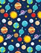 Solar System Notebook - Wide Ruled: 200 Pages 8.5 X 11 Lined Writing Pages Paper School Student Teacher Science Planets Space Earth Moon Sun