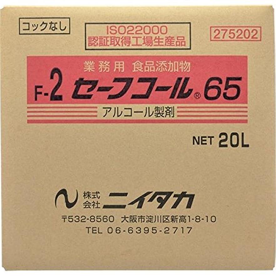 計器検出詳細にニイタカ:セーフコール65(F-2) 20L(BIB) 275202