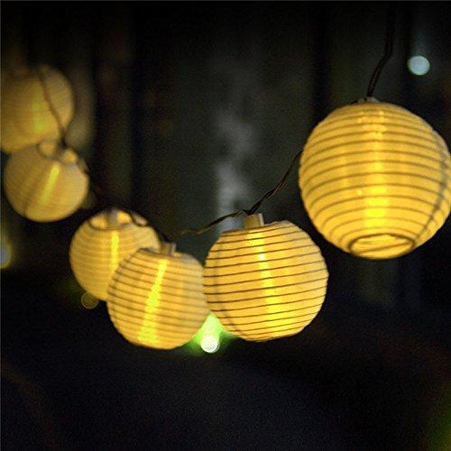 BigFox 燈籠装飾LEDライト 防水IP65 ソーラー発電 太陽光パネル搭載  和風灯籠型イルミネーションライト 屋外インテリアにもOK!