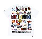 (リアルビーボイス) RealBvoice 7.1オンス ヘビーウェイト 半袖Tシャツ 10021-10015 (XL, WH:ホワイト)