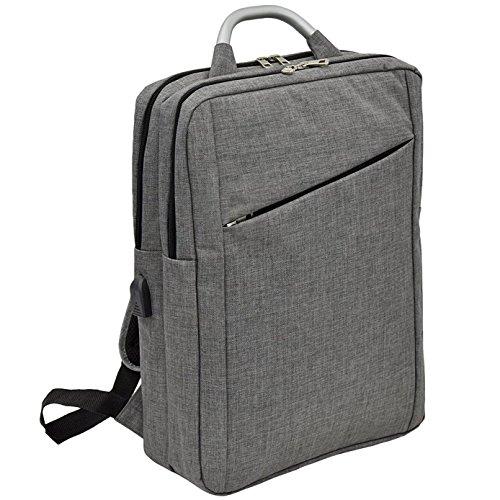[プレックス]リュックサック 2ルーム B4 サイズ対応 USBポート付き 15インチ パソコン 男女兼用