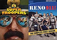 Listen Here Meow I Want a Liter O' Cola Mega Pack: Super Troopers & Reno 911! Complete First Season Movie/Show DVD Bundle【DVD】 [並行輸入品]