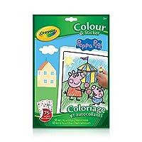 Crayola - カラー&ステッカーブックPeppa Pig