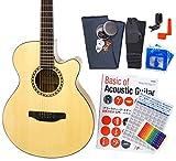 アコースティックギター 初心者 12点 セット ARIA TG-1 カッタウェイタイプ アウトレット N [98765]