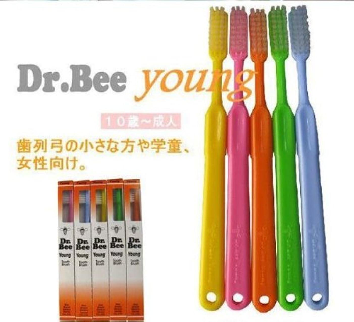 レイプ静脈コンパニオンBeeBrand Dr.BEE 歯ブラシヤング かため
