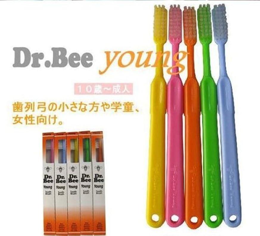 つかまえるコンパス技術BeeBrand Dr.BEE 歯ブラシヤング かため