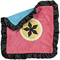 One Grace Place Magical Michayla Binky Blanket, Black, Pink and Turquoise by One Grace Place