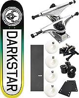 "DarkstarスケートボードTimeworks Fadeスケートボード7.75"" X 31.2"" Complete Skateboard–7項目のバンドル"