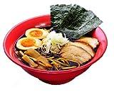 ご当地ラーメンストレートスープの本店直送便 富山ブラック「黒チャーシューめん」6食セット
