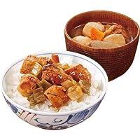ファミリー・ライフ 保存食 丼物・汁物セット焼き鳥丼といも煮汁セット 2種*6袋入 4972063220151