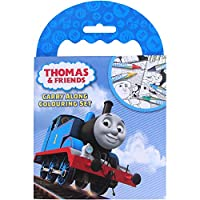 Thomas The Tank & Friends Carry Along Travel Colouring Set