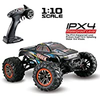 inverlee 1 / 10スケールHigh Speed 46 KM / H 2.4 GHz 4 WD Radio ControlledオフロードRC車Perfect Gift for Kids マルチカラー IN