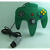 N64(ニンテンドウ64)型コントローラー グリーン「ノーブランド品」
