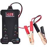 AUTDER Car Battery Tester 12V 6 LED Lights Digital Alternator Tester,Test Battery Condition & Alternator Charging Tester for