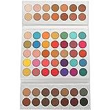 アイシャドウパレット63色、美容真珠光沢マットアイ化粧品メイクアップパレット