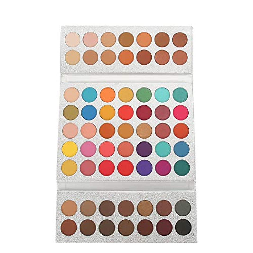 感心する分布従事するアイシャドウ パレット 63色 美容真珠光沢 マットアイ 化粧品 メイクアップパレット