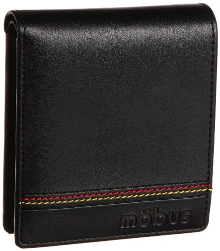 [モーブス] mobus ドイツステッチシリーズ 二つ折り財布 MOS151 black (black)