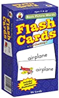 Basic Picture Words Flash Cards Ages 5 - 7 [Floral] [並行輸入品]